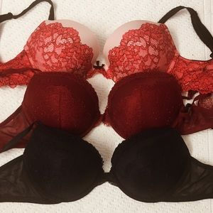 3 Victoria's Secret Bras